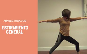yoga para estiramiento general del cuerpo