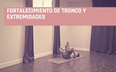 yoga para tronco y extremidades