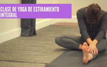yoga para estiramiento integral