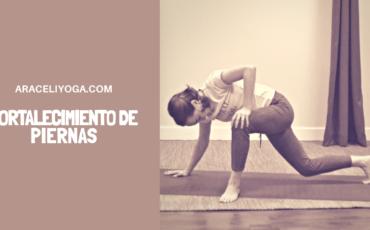 yoga piernas fuertes