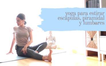 yoga para escapulas piramidal