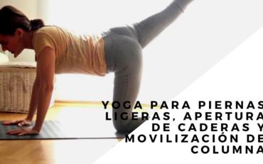 yoga para piernas ligeras