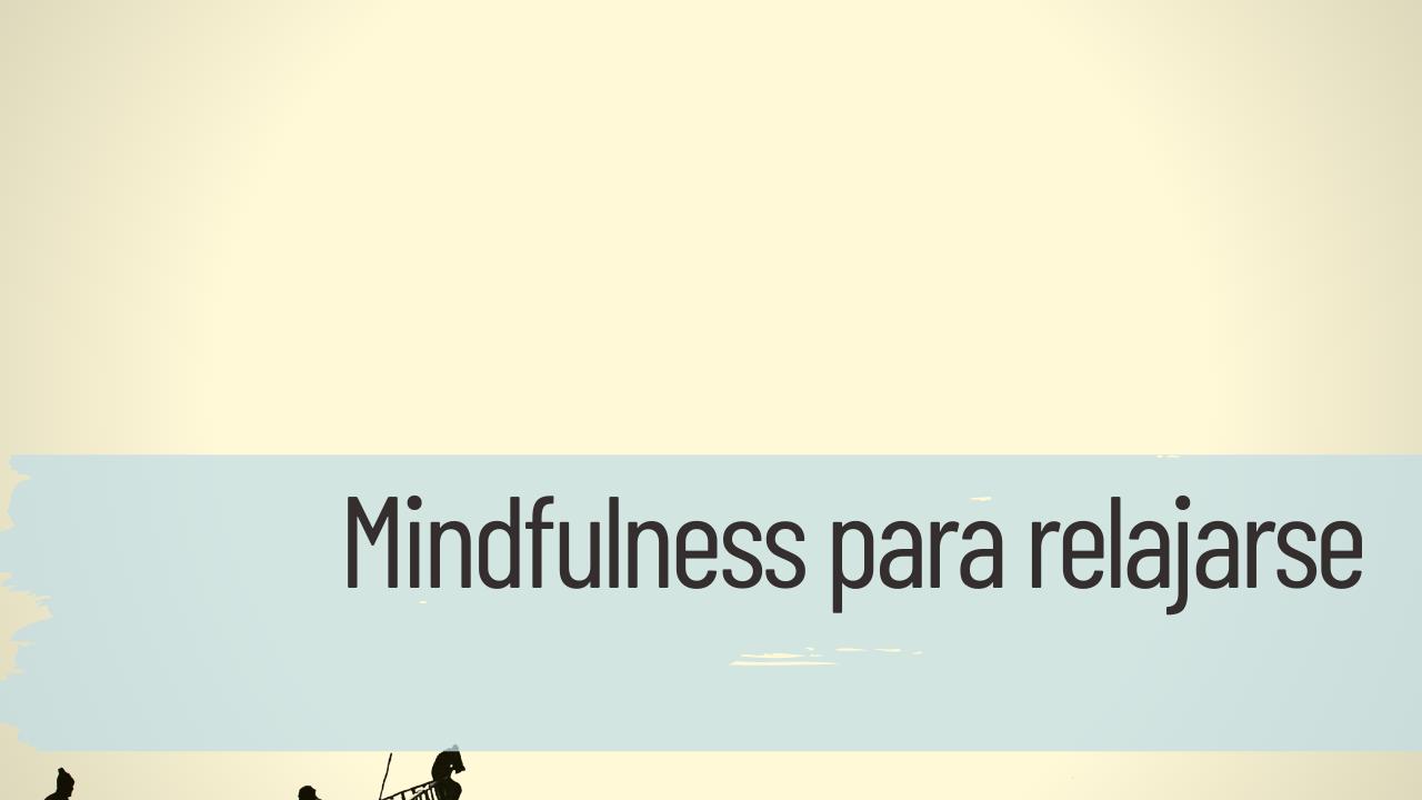 mindfulness para relajarse