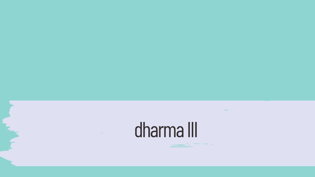 dharma iii