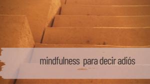 mindfulness para decir adios