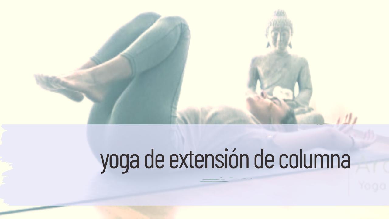 yoga de extensión de columna