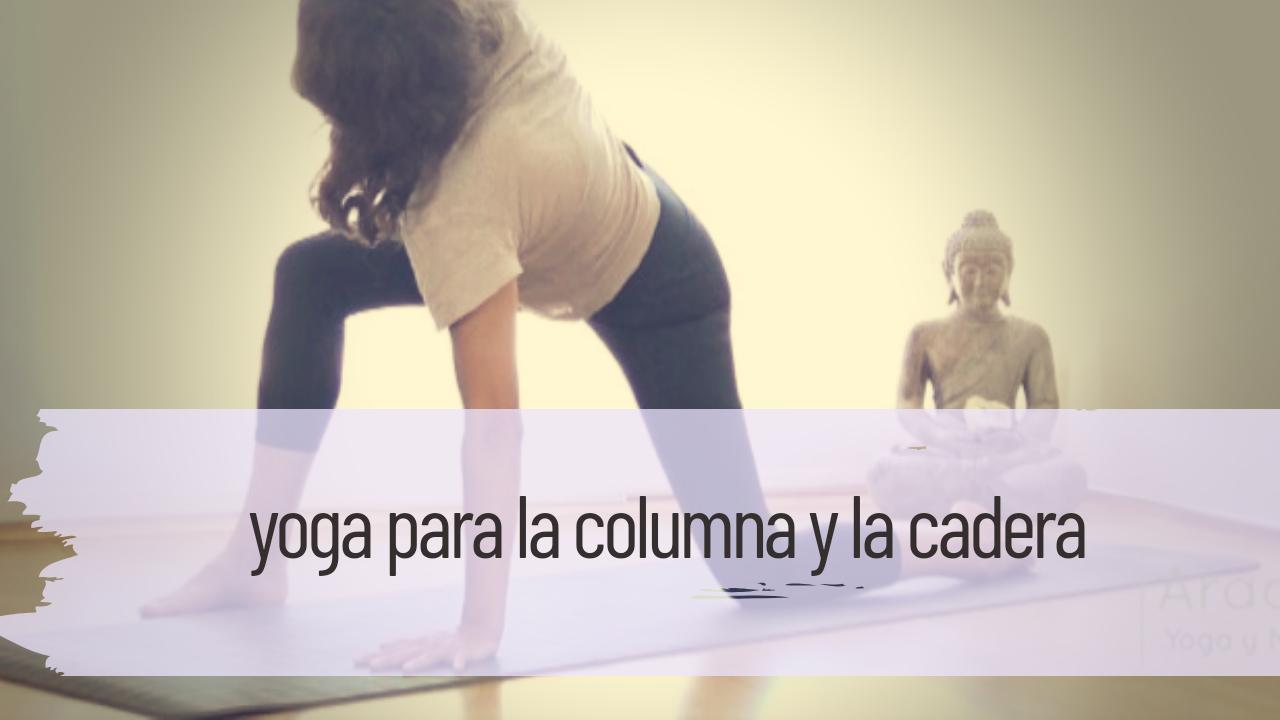 yoga para la columna y la cadera