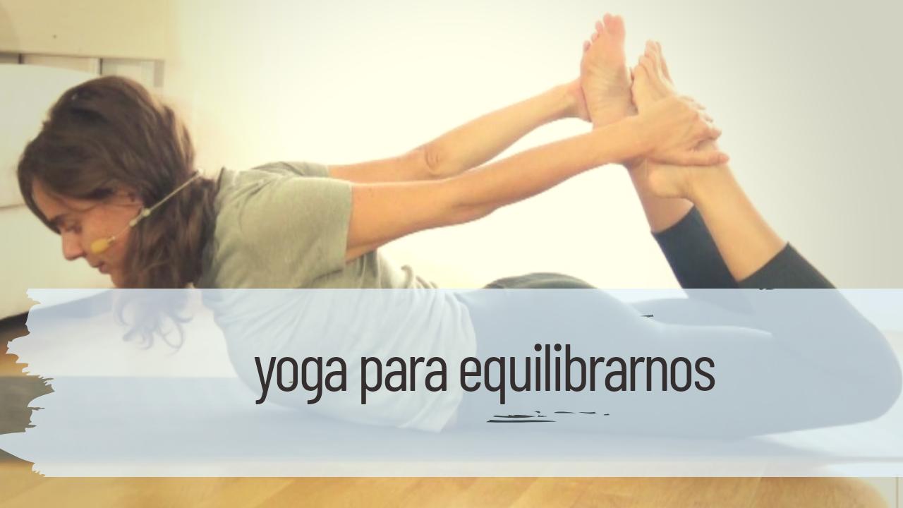 yoga para el equilibrio