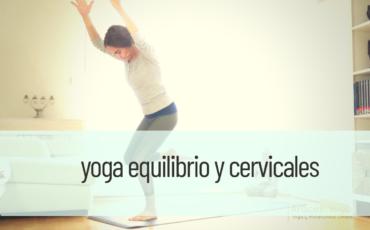 yoga equilibrio y cervicales