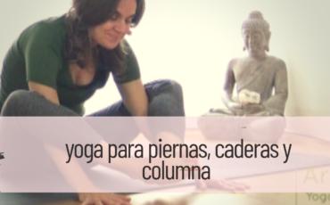 yoga para piernas caderas y columna