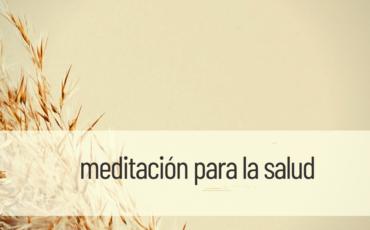 meditación para la salud