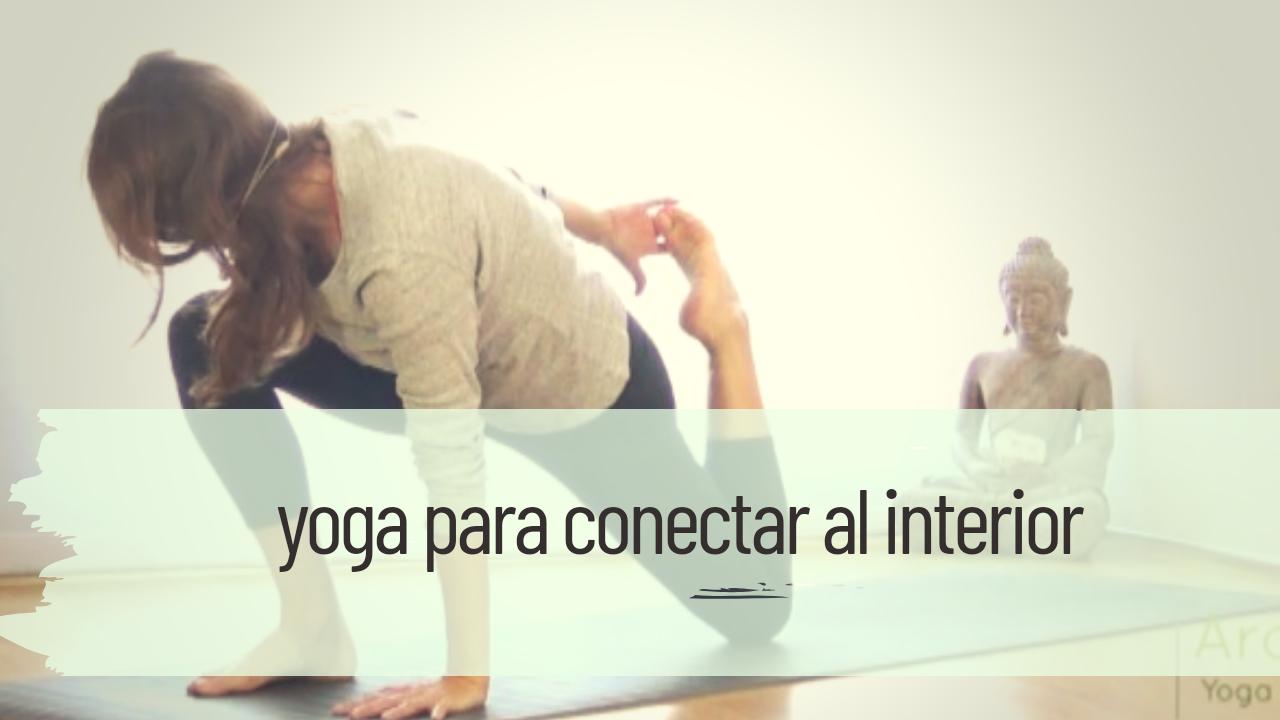 yoga para conectar al interior