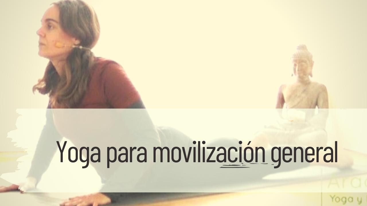 yoga para movilización general