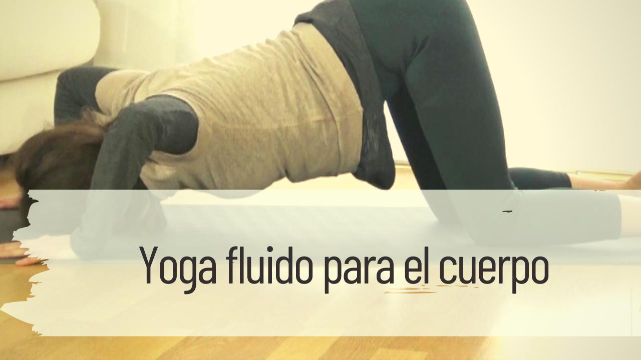 yoga fluido para el cuerpo