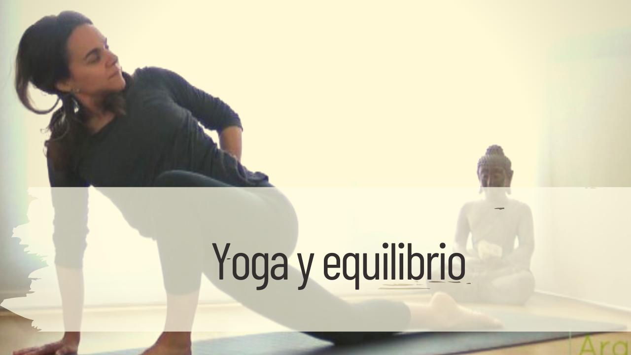 yoga y equilibrio