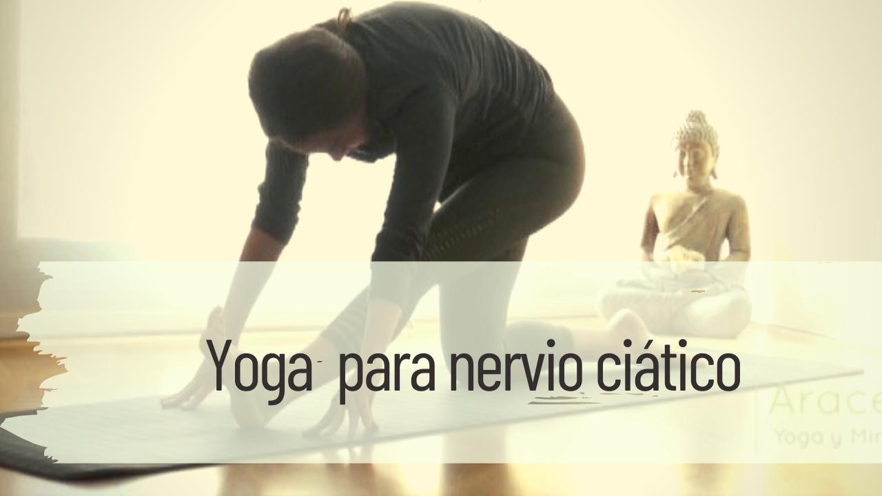 yoga para nervio ciático