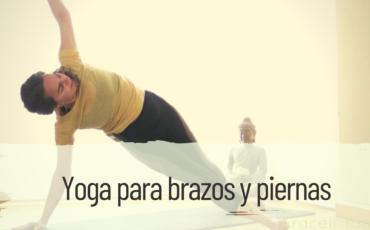 yoga para brazos y piernas