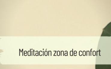 meditación zona de confort