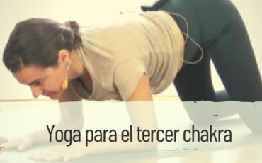 yoga tercer chakra