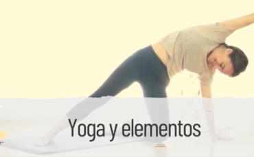 yoga y elementos